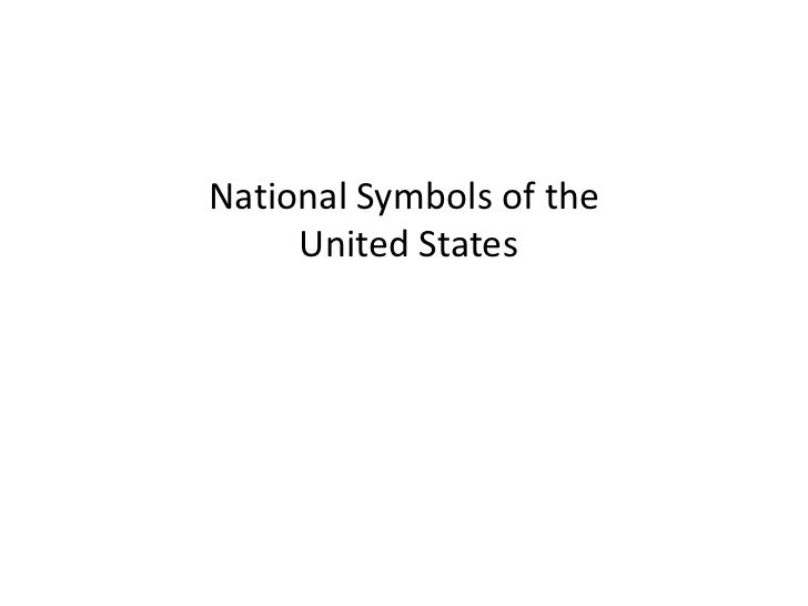 National Symbols of the United States<br />