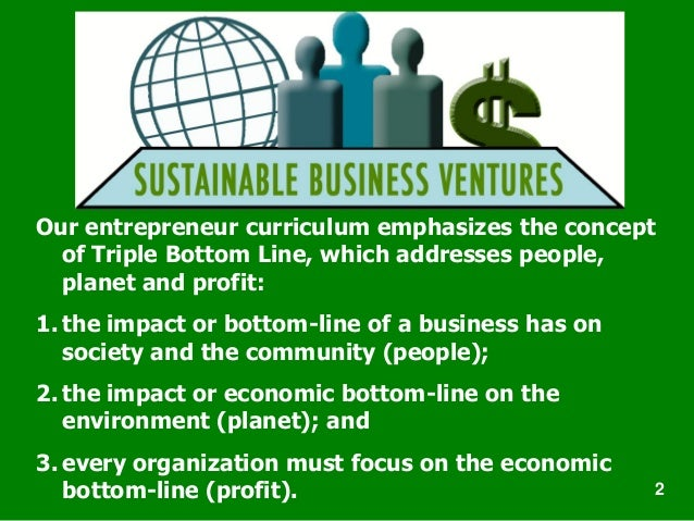 the concept of sustainable entrepreneurship Whilst the concept of green economy has only recently gained significant international attention, green economy policies have been discussed and analysed for some decades by economists and.
