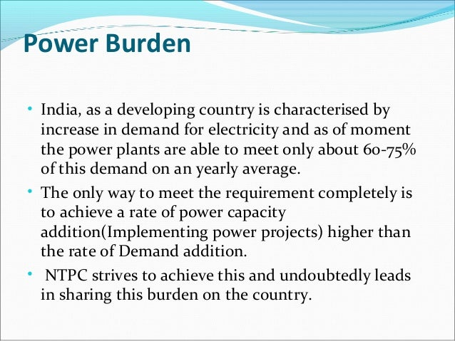 strategies of national thermal power corporation essay I will let you know national thermal power corporation, business strategy and policies so that you can get idea strategy and policies to contribute to sustainable development by discharging.