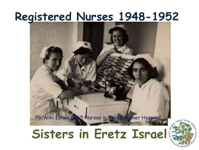 Registered Nurses 1948-1952  PikiWiki Israel 8565 Nurses in Tel Hashomer Hospital  Sisters in Eretz Israel