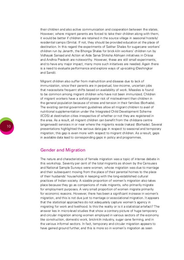 internal migration in india and citizenship Internal migration and citizenship in india the views and conclusions expressed or implied within this article are those of the author and do not necessarily.