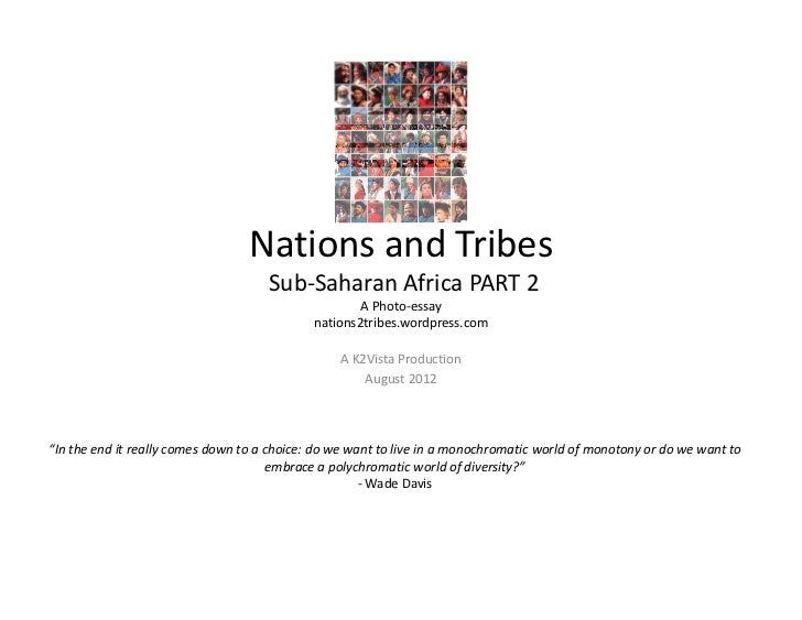 Nations and Tribes                                     Sub‐Saharan Africa PART 2                                          ...