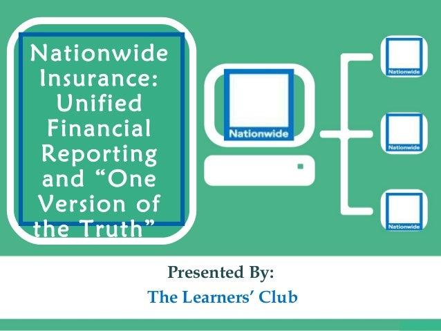 Nationwide Wedding Insurance: Nationwide Insurance Mis Case