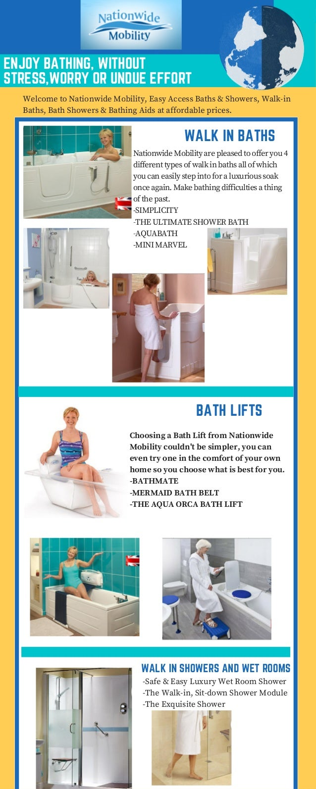Nationwide Mobility - Baths and Showers Company