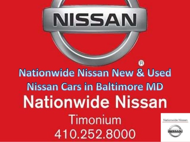 Nationwide Nissan New & Used Nissan Cars in Baltimore MD