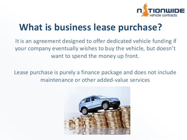 lease purchase car