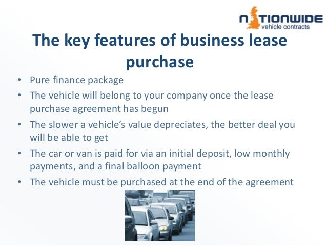 Nationwide Vehicle Contracts - Business Lease Purchase