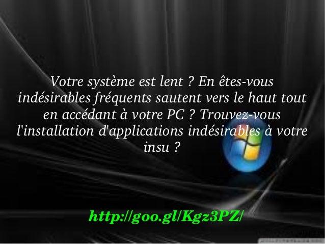 Comment faire pour supprimer Nationzoom.com browser hijacker de Windows PC Slide 3