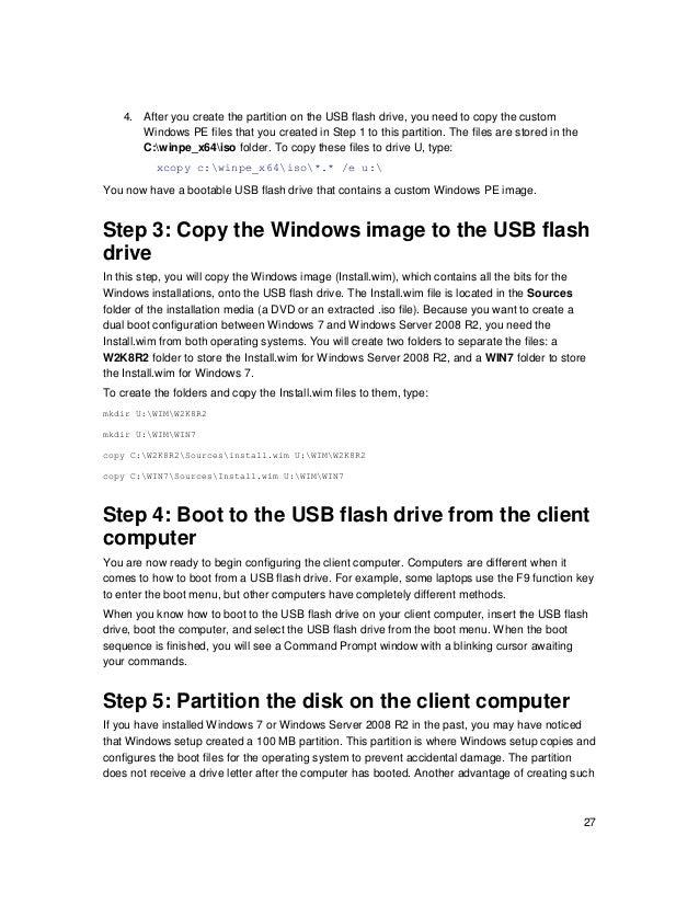 Native VHD Boot: A Walkthrough of Common Scenarios