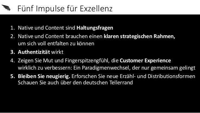 Von Native, Content und Haltung - 5 Impulse für Exzellenz (Keynote vom Native Ads Camp) Slide 2
