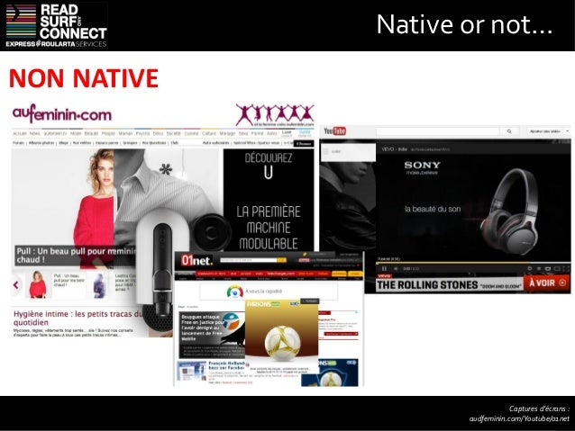 Native or not…NATIVE                                   Captures d'écrans :              qz.fr, google, twitter, lexpress.f...