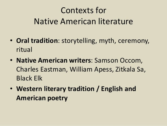 native american lit