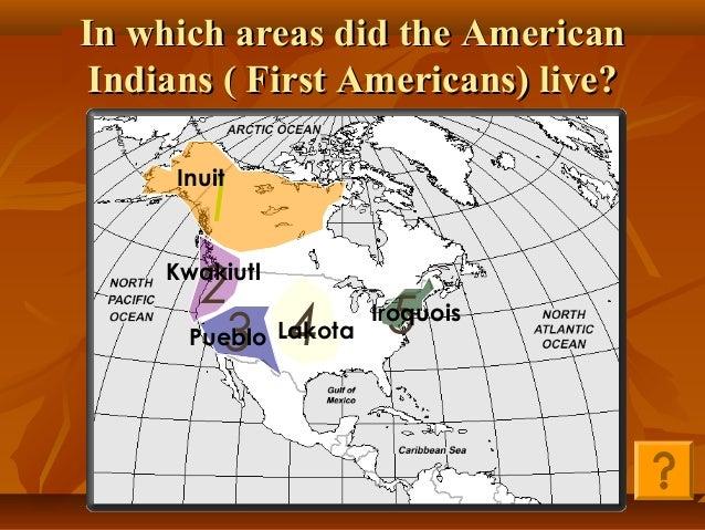 Five Native American Tribes SOL USI.3b