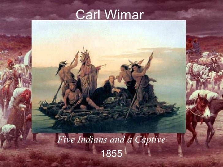 Carl Wimar Five Indians and a Captive 1855