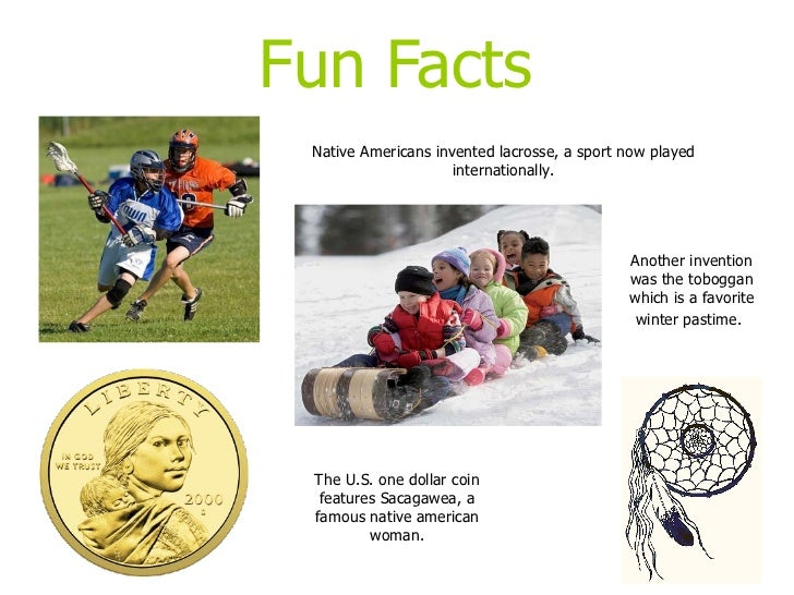 11 fun facts native americans