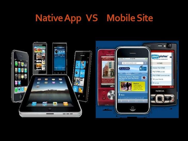 Native App VS Mobile Site