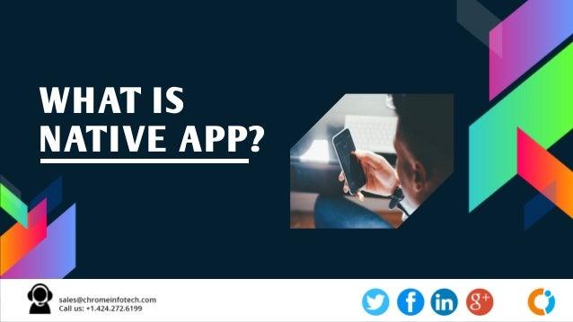 Native Application Development Company Slide 2