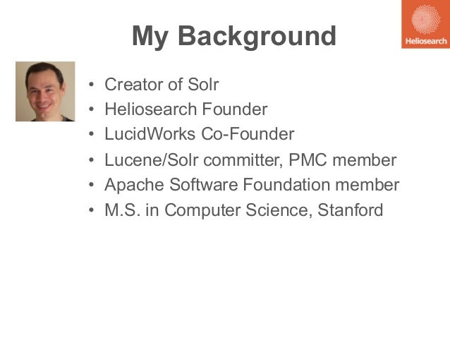Native Code & Off-Heap Data Structures for Solr: Presented by Yonik Seeley, Heliosearch Slide 2