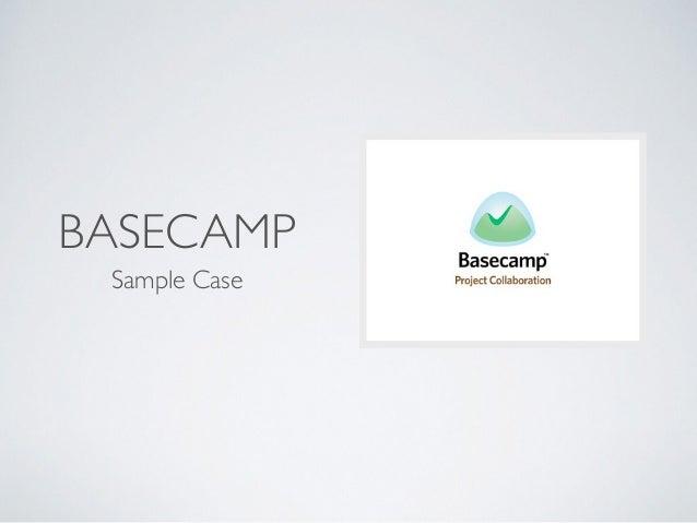 BASECAMP Sample Case