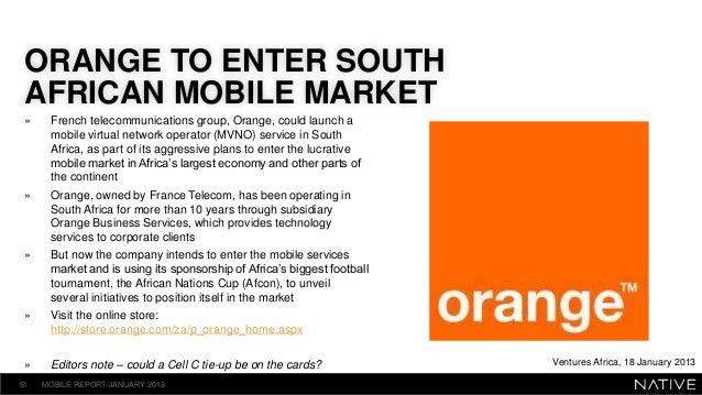 Mobile virtual network operators (MVNOs)