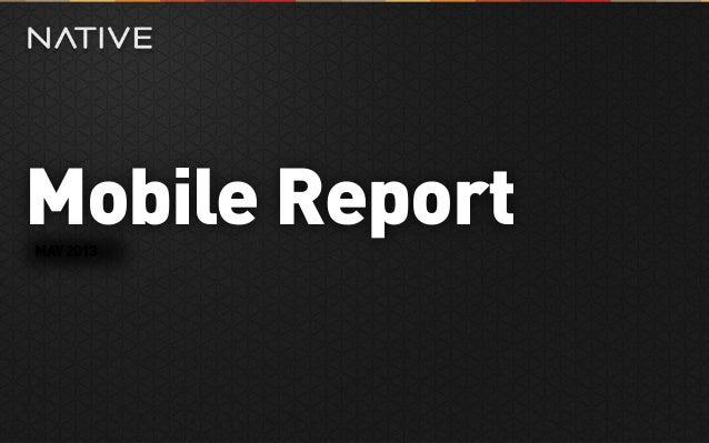 Mobile ReportMAY2013