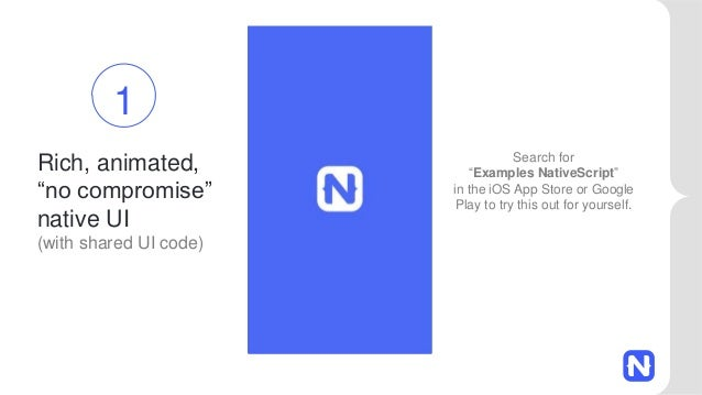 Prototyping Mobile Apps with NativeScript and Angular