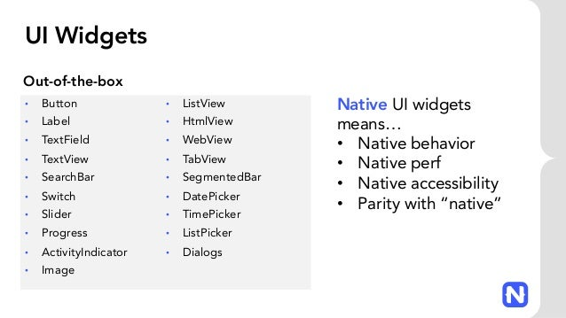 NativeScript: Cross-Platform Mobile Apps with JavaScript and