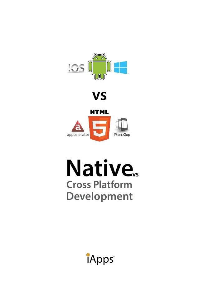 vs  Nativevs  Cross Platform  Development