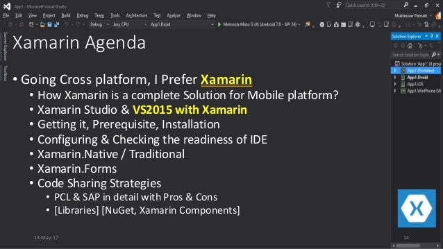 Mobile App Development and Xamarin as a Complete Mobile Solution