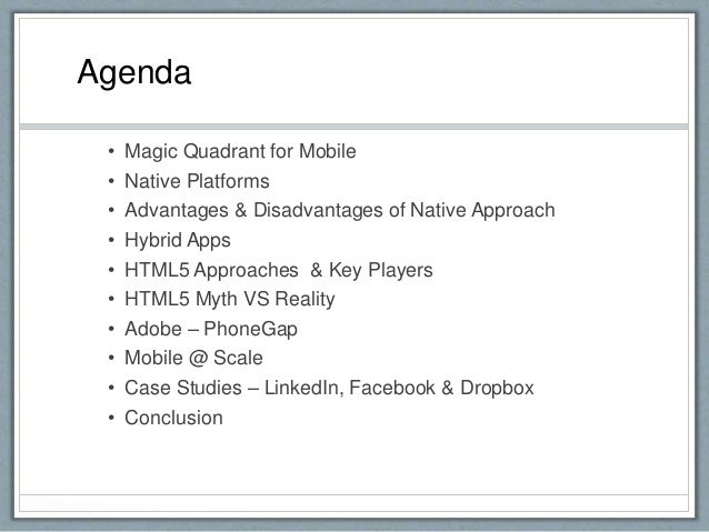 Native vs hybrid approach Mobile App Development Slide 3