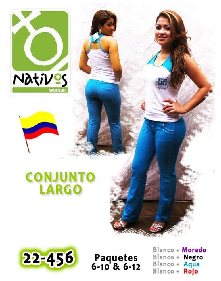 Linea de Trajes Colombianos Marca Nativos Active