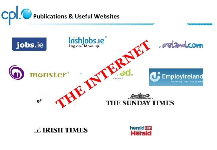Publications & Useful Websites                                 E T                           R N                        T ...