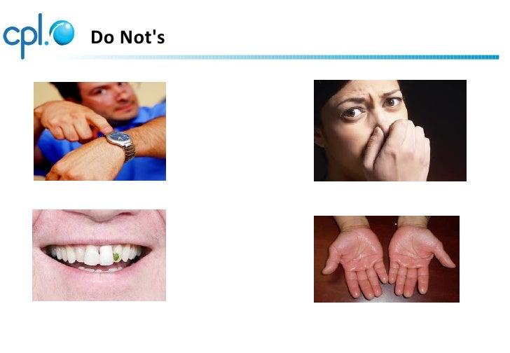 Do Nots