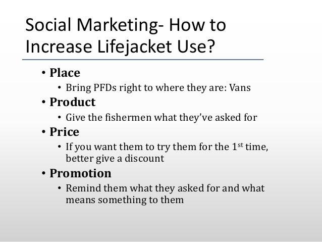 Life Jacket Vans & Social Marketing
