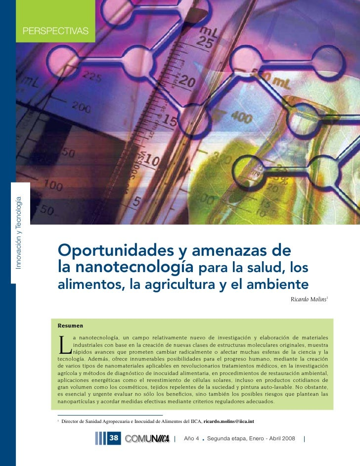 PERSPECTIVAS Innovación y Tecnología                                     Oportunidades y amenazas de                      ...