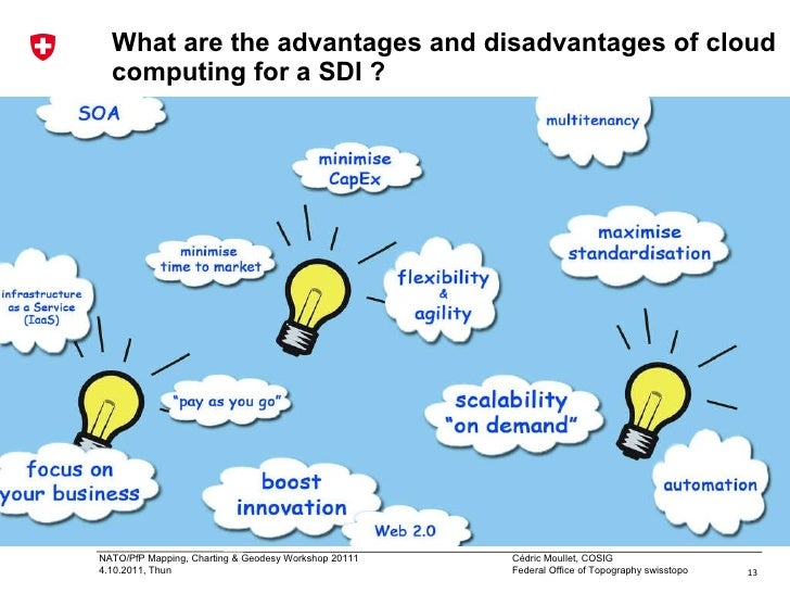 advantages and disadvantages of cloud computing Although it is only in the last few years that technology users have cashed in on cloud computing, its inception happened many decades back with saas, paas, and iaas, there is the on-demand availability of computing services in the form of applications, storage, and processing power.