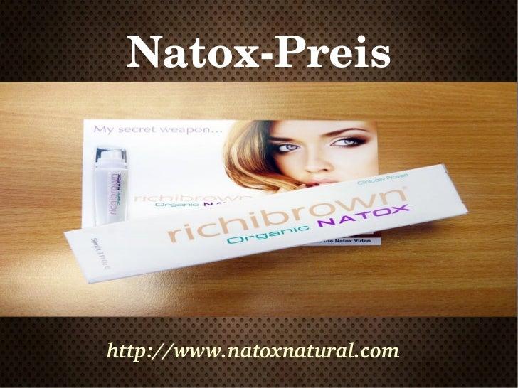 NatoxPreishttp://www.natoxnatural.com