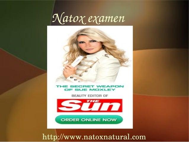 Natoxexamenhttp://www.natoxnatural.com