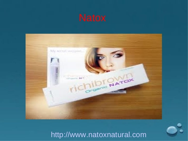 Natoxhttp://www.natoxnatural.com