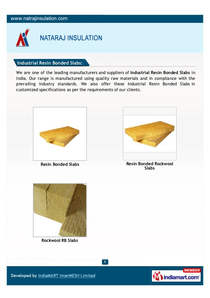 Industrial Resin Bonded Slabs:We are one of the leading manufacturers and suppliers of Industrial Resin Bonded Slabs inInd...