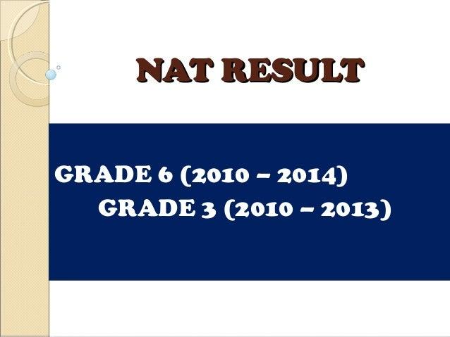 Nat Result Presentation 2010 2014
