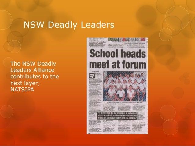 National Aboriginal And Torres Strait Islander Leaders Program