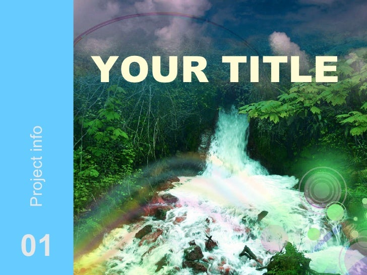 YOUR TITLE 01 Project info