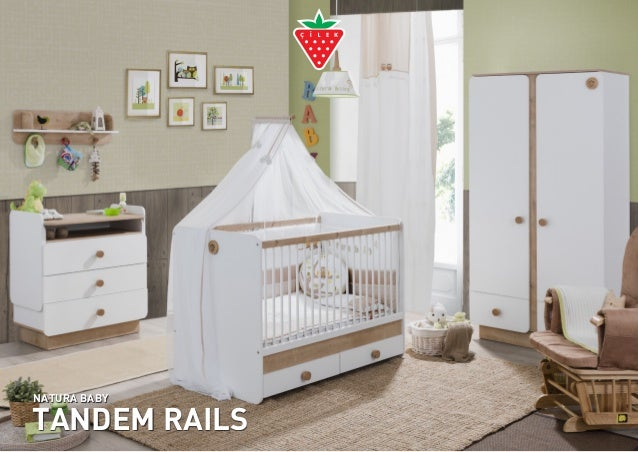 TANDEM RAILS NATURA BABY