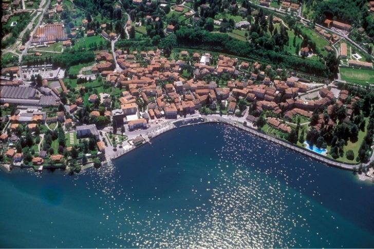 Natura e splendidi paesaggi sul lago Maggiore. Porto Valtravaglia