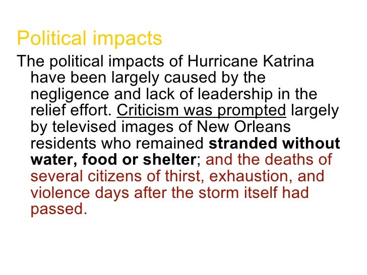 cause and effect of hurricane katrina Thousands of kids who survived the 2005 storm are still dealing with the fallout.