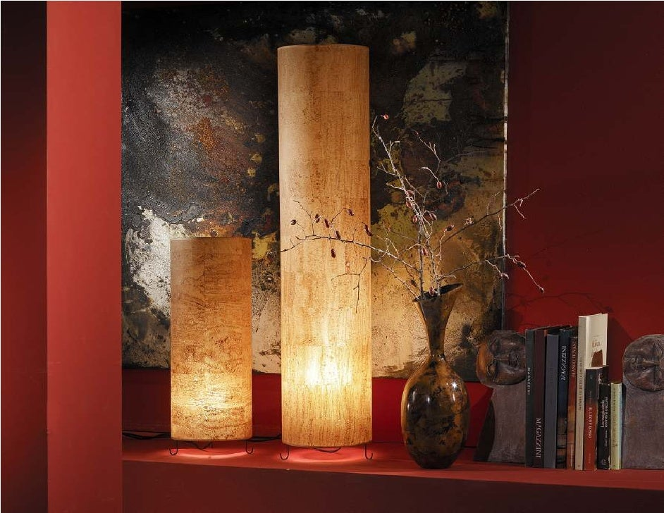 Natural cork fabrics used for lamp shades aloadofball Images