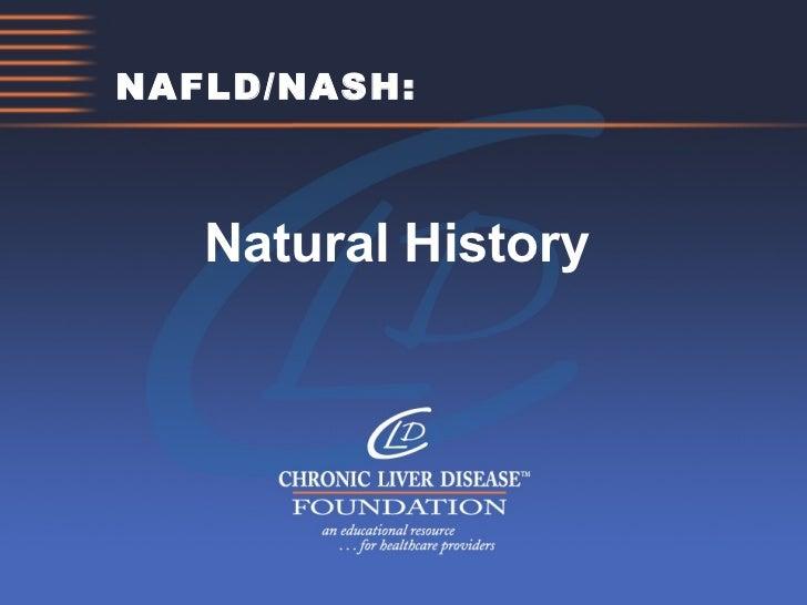 NAFLD/NASH: Natural History