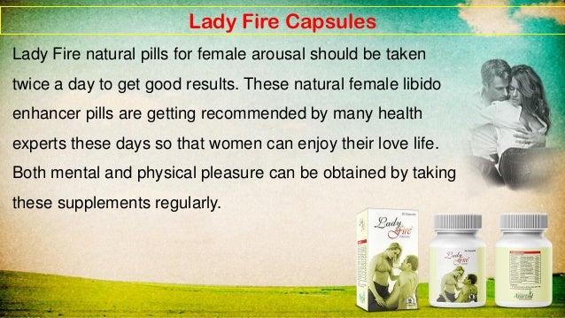 natural arousal supplement