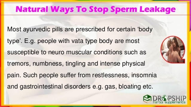 Sperm stops period flow